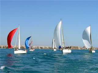 Regatta in Orihuela Costa